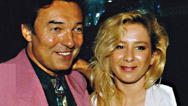 Karel Gott s Pavlou Forest na začátku devadesátých let.