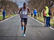 Vítěz 40. ročníku běžeckého závodu Pečecká desítka: Kipkorir Biwot Wycliffe.