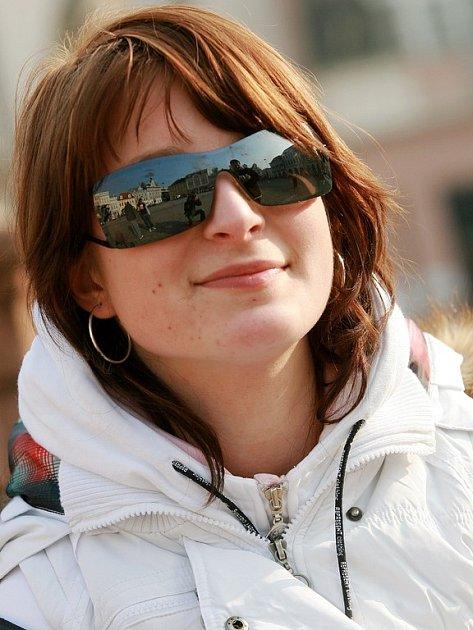 Kristýna Martínková, 17, let, Křečhoř: O kupování nových automobilů policií jsem slyšela v televizi. Myslím si, že je takové jednání plýtváním peněz.