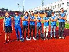 OSMÝ FLEK. Mladí atleti Kolína skončili na osmém místě.