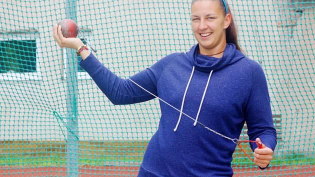 Kolínská atletka Kateřina Šafránková