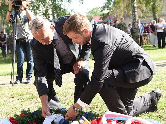 Na Václava Morávka a Josefa Mašína se v Kolíně vzpomínalo již po patnácté.