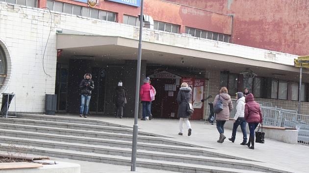 Budova vlakového nádraží v Kolíně