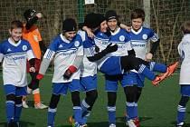 Přestože kolínští žáci skončili na pátém místě, měli důvod k úsměvu. Vždyť na turnaji hrály týmy jako Sparta Praha, Mladá Boleslav nebo Viktoria Žižkov.