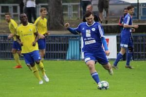 Z utkání FK Kolín - Horky nad Jizerou (2:1).