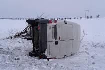 Dopravní nehoda na silnici I/12, 11.2.2010