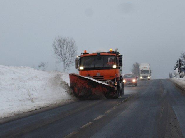 Situace na silnicích se uklidnila.