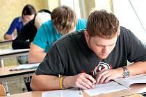 Studenti si vyzkoušeli státní maturitu