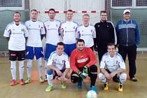 Borky liga hraje Okresní ligu pouze dva roky a již se mohla radovat z prvenství v dlouhodobé soutěži.