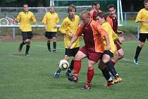 Z utkání FK Kolín B - Polepy B (1:1).