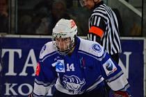 Z utkání semifinále play off II.NHL Kolín - Hodonín (1:3).