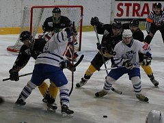 Z utkání druhé hokejové ligy Kolín - Sokolov (7:6).