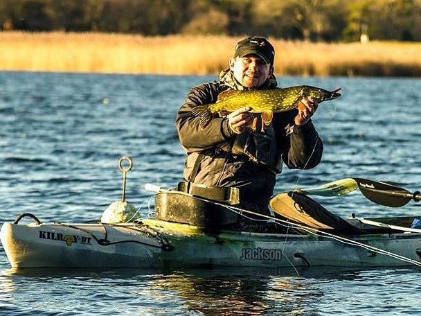 Rybář Jan Dufek