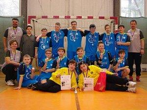 Házená Kolín turnaj.