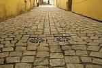 Zlatá ulice v Kolíně.