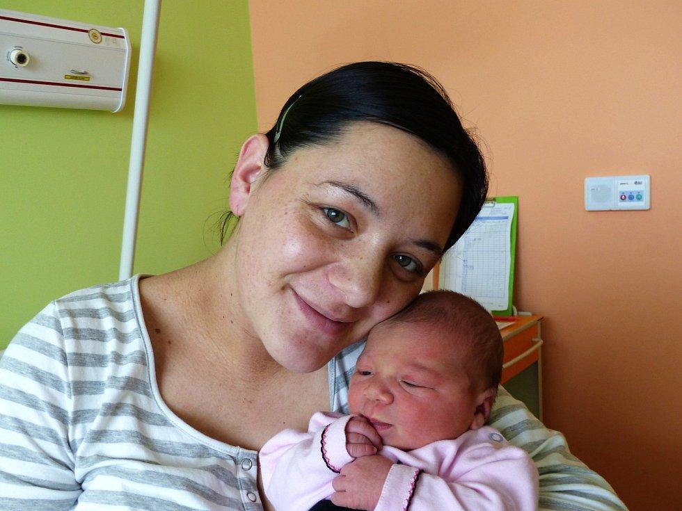 Ema Jouklová se narodila 7.1.2019, vážila 3415 g a měřila 49 cm. V Kolíně bude bydlet s maminkou Denisou a tatínkem Bolkem.