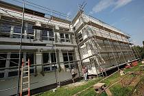 4. Základní škola v Kolíně se zatepluje.