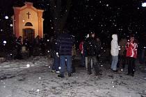 Hasiči z Mančic uspořádali vánoční setkání