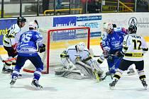 Z utkání čtvrtfinále play off, Kolín - Moravské Budějovice 3:0