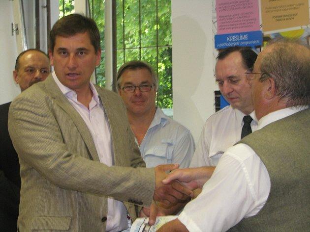 Z předávání certifikátů Stavba roku 2013