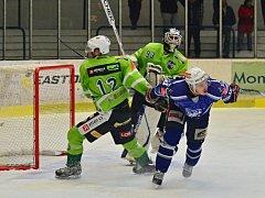 Hokejisté Kolína porazili Trutnov 4:2.