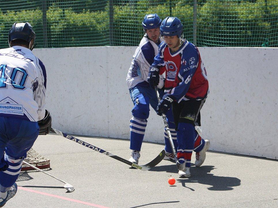 Třetí duel semifinálové série Kolín - Spectrum Praha.