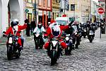 Vánoční vyjížďka motorkářů