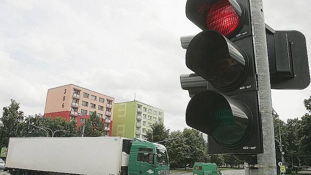 Křižovatka v Jaselské ulici