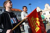 Komunisté slavili Svátek práce