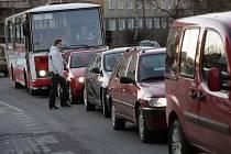 Dopravní kolaps v Kolíně, 2. dubna 2009