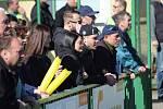 Utkání Velim - Poděbrady (1:2) se hrálo před kamerami České televize. Do ochozů přišlo 760 diváků.