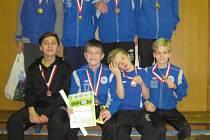 Mladší žáci Kolína patřili herně k nejlepším, na pomyslné stupně vítězů ale nedosáhli. Skončili na čtvrtém místě.