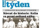 Titulní strana třicátého druhého čísla týdeníku Kolínský týden.