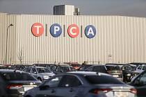 Automobilka TPCA v průmyslové zóně Kolín - Ovčáry.
