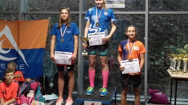 Lelková prokázala příslušnost k nejlepším plavkyním ČR 13-ti letého žactva a vybojovala celkem 6 medailí ze šesti startů.