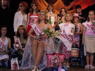 Během soutěže Miss Pečecka nebyla nouze o překvapení i veselé okamžiky.