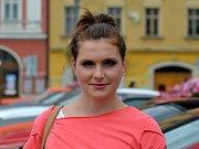 Lenka Pavlíčková, na mateřské dovolené: Letos k volbám určitě půjdu. Nechci, aby tu vládlo hnutí ANO v čele s Babišem. O potřebě jít volit přesvědčuji i lidi ve svém okolí.