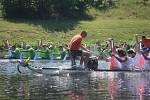 Dračí lodě i dětský den, to byly Svátky Labe