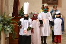 Tříkrálová sbírka začala v chrámu sv. Bartoloměje