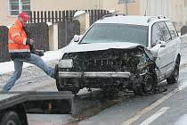 Dopravní nehoda u Pučer