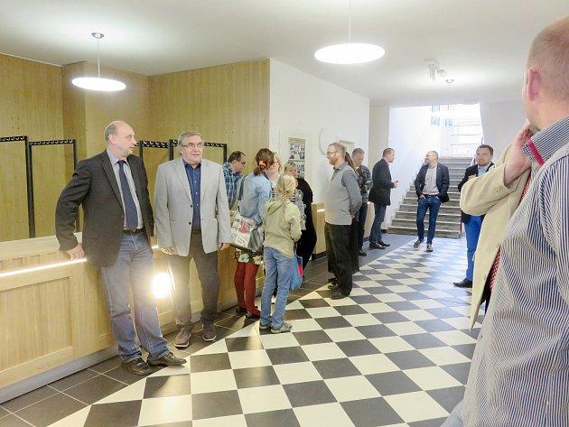 Otevírání zrekonstruovaného kulturního domu Svět