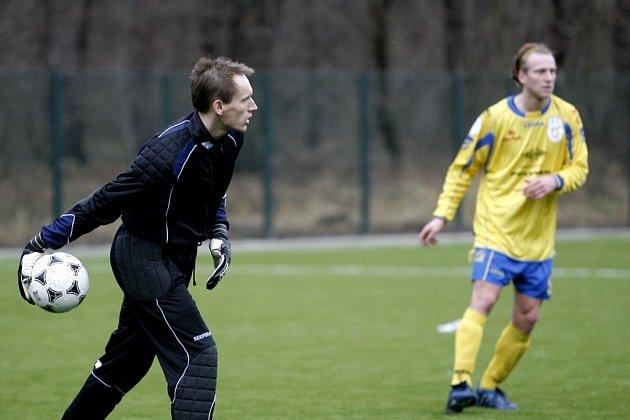David Čižinský (vlevo) v akci.