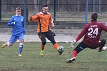 Z přípravného utkání FK Kolín - Vlašim (2:0).