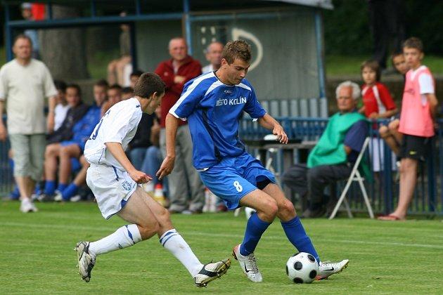 Z utkání FK Kolín - Mladá Boleslav B (1:0).