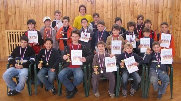 Šachový turnaj mládeže Kouřim OPEN 2009