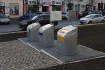 Nové podzemní kontejnery v Českém Brodě
