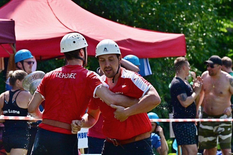 Ze středočeské krajské soutěže v Požárním sportu 2021.