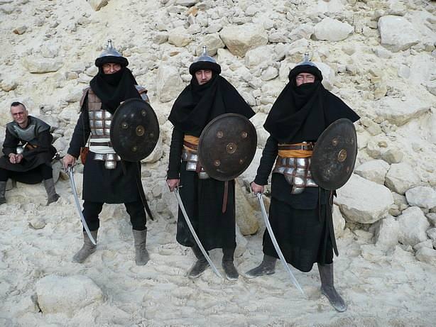 Z aktivit skupiny historického šermu Páni z Kolína