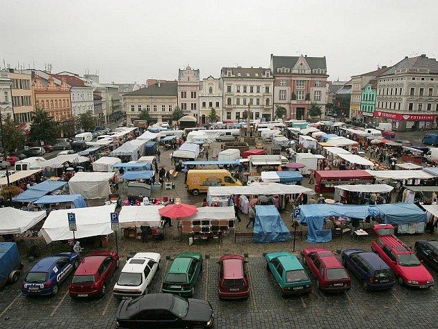 Havelský trh v Kolíně