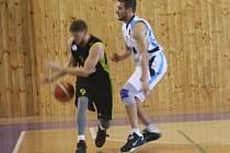 Z přípravného utkání BC Geosan Kolín - Brno (88:72).